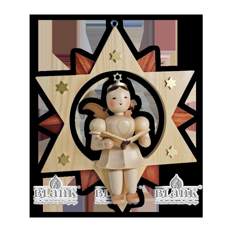 ESM 019 Angel in a Star Singer, 30 cm