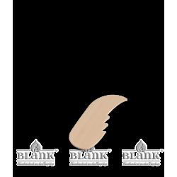 EK FLUEGEL Engelflügel für Kurzrockengel, natur von Blank Kunsthandwerk, Gruenhainichen