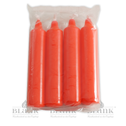 Kerzen für Adventsleuchter, rot, 4 Stück