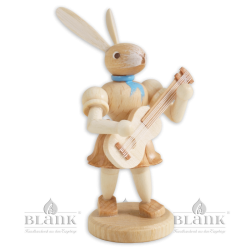 Easter Bunny with Guitare