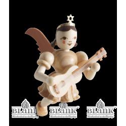 SE 005 Schwebeengel mit Gitarre von Blank Kunsthandwerk, Gruenhainichen