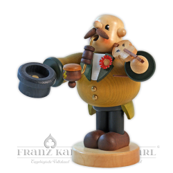 """Pipe smoker """"Violinist"""" - 19 cm (7.5 inches)"""