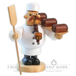 """Pipe smoker """"Baker"""" - 19 cm (7.5 inches)"""