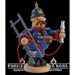 """Pfeifenraucher Feuerwehrmann"""" - 19 cm"""