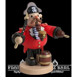Pfeifenraucher Pirat