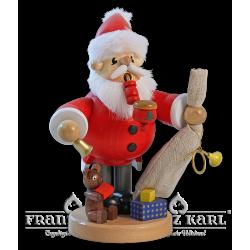1527 Pfeifenraucher Weihnachtsmann von Blank Kunsthandwerk, Gruenhainichen