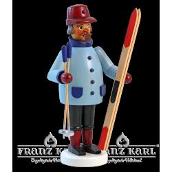 1671 Räuchermann Skier von Blank Kunsthandwerk, Gruenhainichen