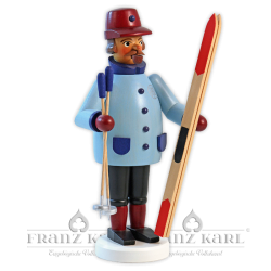 """Incense smoker """"Skier"""" - 22 cm (8.7 inches)"""