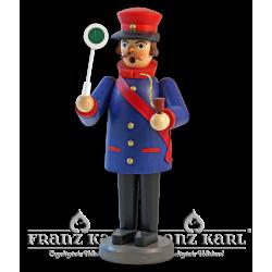 "Incense smoker ""Railman"" - 22 cm (8.7 inches)"