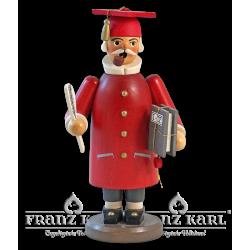 """Räuchermann """"Gelehrter"""", rot"""