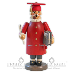 """Incense smoker """"Scholar"""", red - 20 cm (7.9 inches)"""