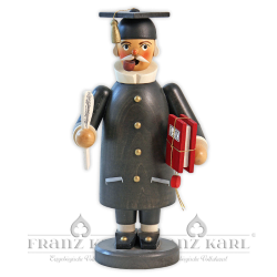 """Räuchermann """"Gelehrter"""", schwarz"""