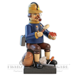 """Incense smoker """"Stone Collector Hart"""" - 20 cm (7.9 inches)"""