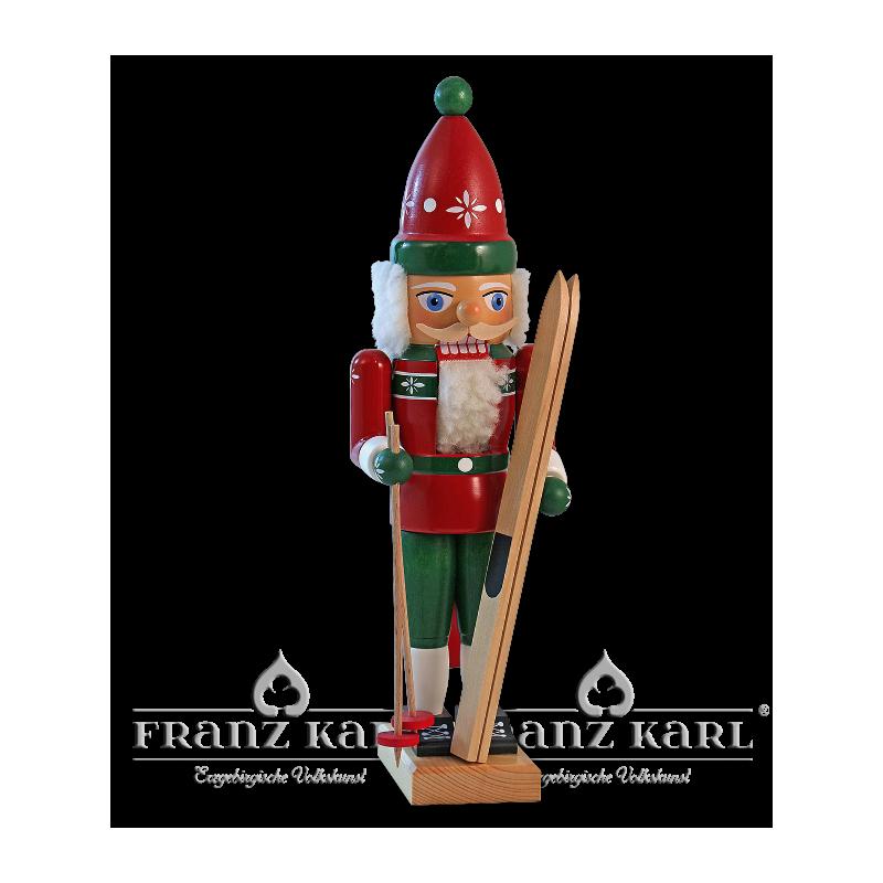 "3074 Nußknacker ""Skifahrer"" - 38 cm"