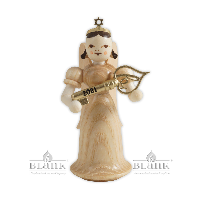 EL 2021 Angel with Long Robe and Lucky Key, Limited Edition 2021, coloured