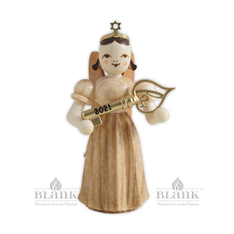 ELN 2021 Angel with Long Pleated Robe and Lucky Key, Limited Edition 2021