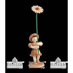 BK 015 Blumenkind mit Gänseblümchen von Blank Kunsthandwerk, Gruenhainichen