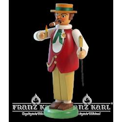 1172/1 Räuchermann Gentleman, beige von Blank Kunsthandwerk, Gruenhainichen