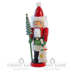"""3077 Nußknacker """"Weihnachtsmann"""" - Neuheit 2011 - 38 cm"""