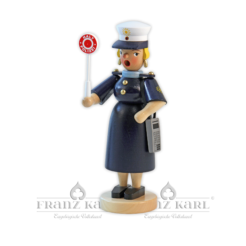 """1176 Rauchfrau """"Polizistin"""""""