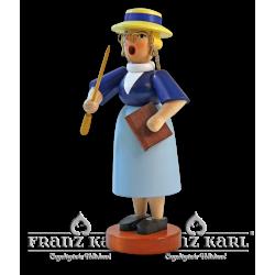 1178 Rauchfrau Lehrerin von Blank Kunsthandwerk, Gruenhainichen