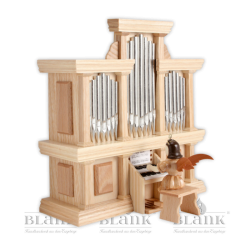 EK 050 Kurzrockengel an der Orgel