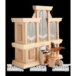 EK 050-SP Kurzrockengel an der Orgel mit Spielwerk von Blank Kunsthandwerk, Gruenhainichen