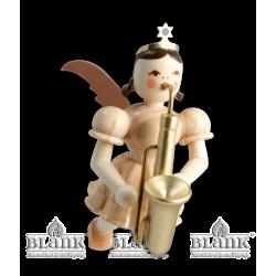 SE 023 Schwebeengel mit Saxophon von Blank Kunsthandwerk, Gruenhainichen