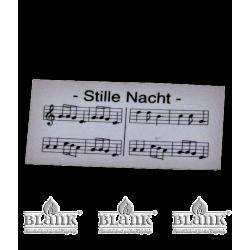 NOTENBLATT Notenblatt für Sänger oder Flügel von Blank Kunsthandwerk, Gruenhainichen