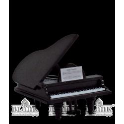EKF 021-1 Flügel schwarz ohne Engel von Blank Kunsthandwerk, Gruenhainichen
