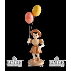M 004 Mädchen mit Luftballon von Blank Kunsthandwerk, Gruenhainichen