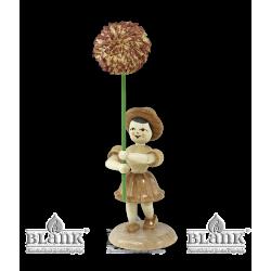 BK 026 Blumenkind mit Chrysantheme von Blank Kunsthandwerk, Gruenhainichen