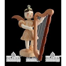 EK 008 Kurzrockengel mit Harfe von Blank Kunsthandwerk, Gruenhainichen