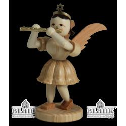 EK 075 Kurzrockengel mit Piccoloflöte von Blank Kunsthandwerk, Gruenhainichen