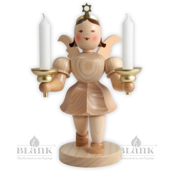 Angel with candle holder - 20 cm (7.9 inches)