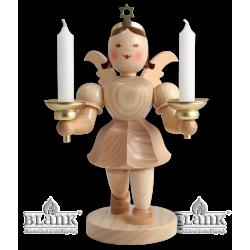 EKM 024 Kurzrockengel mit Kerzenhalter, 20 cm von Blank Kunsthandwerk, Gruenhainichen