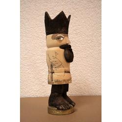 3095 S Barfußkönig der II. - Exemplar No. 85 von Blank Kunsthandwerk, Gruenhainichen