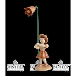 BK 003 Blumenkind mit Glockenblume von Blank Kunsthandwerk, Gruenhainichen