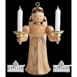 ELM 024 Langrockengel mit Kerzenhalter, 20 cm von Blank Kunsthandwerk, Gruenhainichen