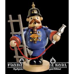 1520 Pfeifenraucher Feuerwehrmann von Blank Kunsthandwerk, Gruenhainichen
