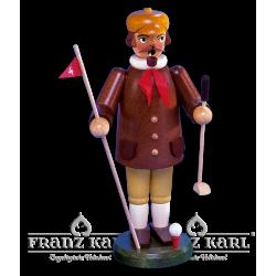 """Räuchermann """"Golfer"""" - 22 cm"""